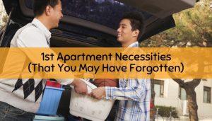 1st apartment necessities