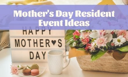 Mother's Day Resident Event Ideas