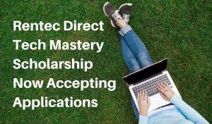 2019 Tech Mastery Scholarship
