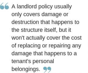 renters insurance vs landlord insurance