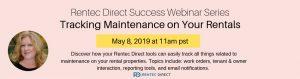 Tracking Maintenance Rentec Direct