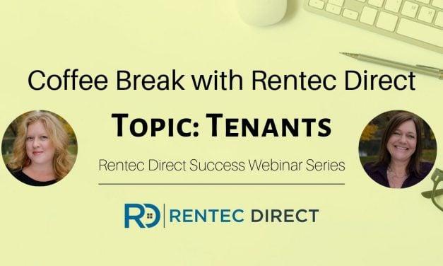Webinar Recap: Coffee Break with Rentec Direct – Tenant Questions