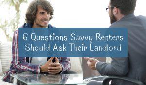 questions renters should ask