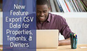 CSV export from Rentec Direct