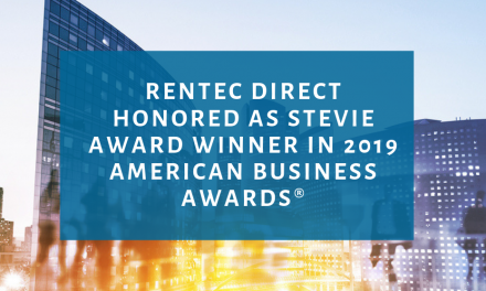 Rentec Direct Honored as Stevie Award Winner in 2019 American Business Awards®
