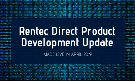 Rentec Direct Product Development Update: Made Live in April 2019