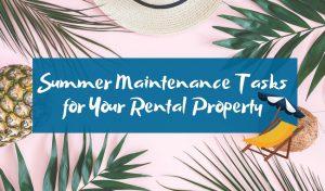 summer maintenance tasks