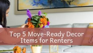move-ready decor for renters