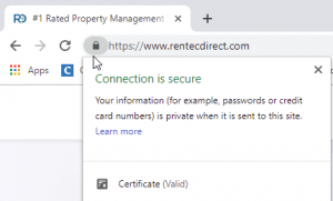 website security SSL