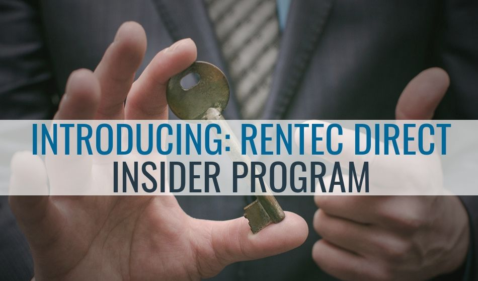 Introducing Rentec Direct Insider Program