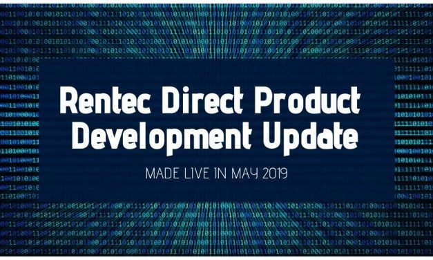 Rentec Direct Product Development Update: Made Live in May 2019