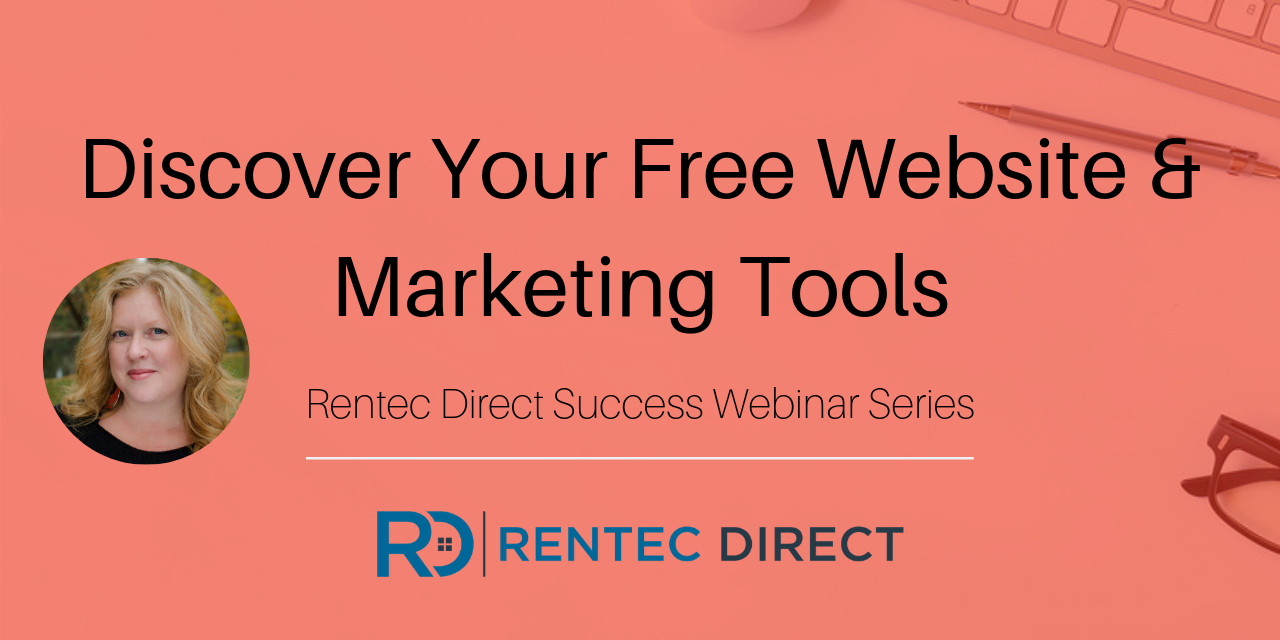 Webinar Recap: Discover Your Free Website and Marketing Tools
