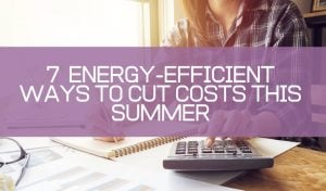 energy efficient summer tips