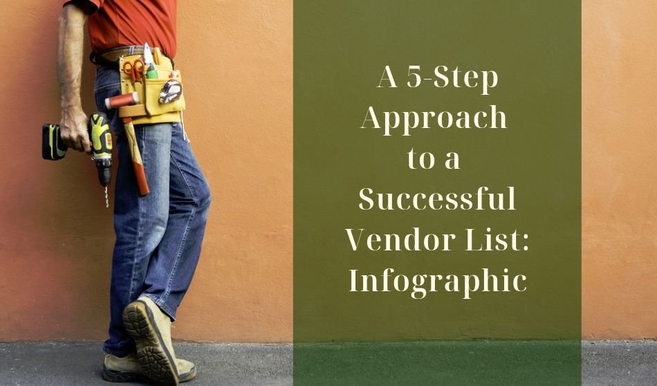 A 5-Step Approach to a Successful Vendor List: Infographic