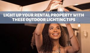 outdoor lighting for your rental