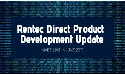 Rentec Direct Product Development Update: Made Live in June 2019