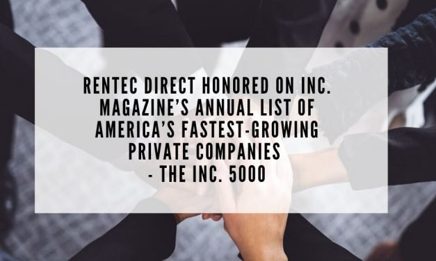 Rentec Direct Honored on Inc. Magazine's Annual List of America's Fastest-Growing Private Companies – the Inc. 5000