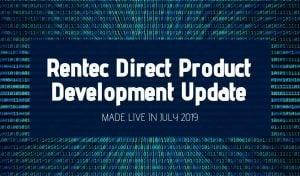 Rentec product update july