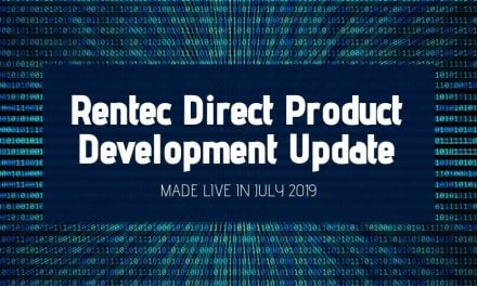 Rentec Direct Product Development Update: Made Live in July 2019