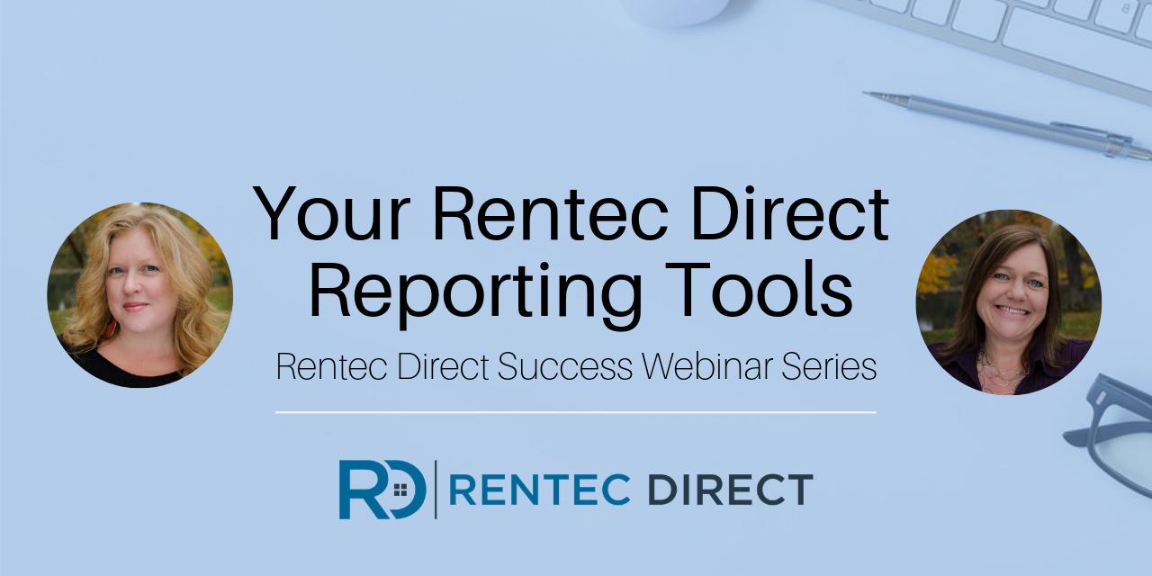Webinar Recap: Your Rentec Direct Reporting Tools