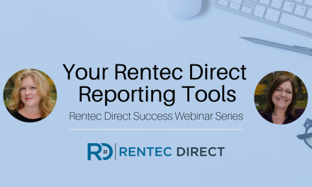 Webinar Recap: Your Rentec Direct Reporting Tools