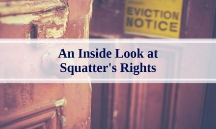 An Inside Look at Squatter's Rights