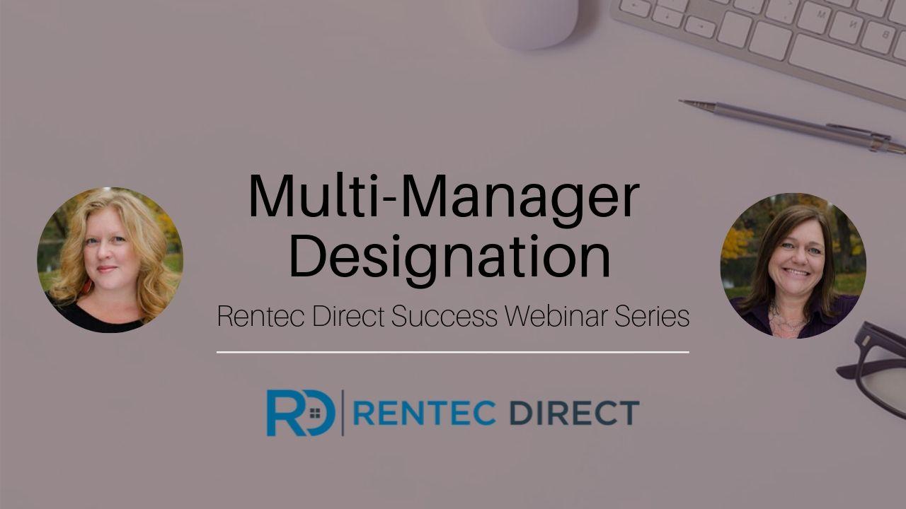 Multi-Manager Designation