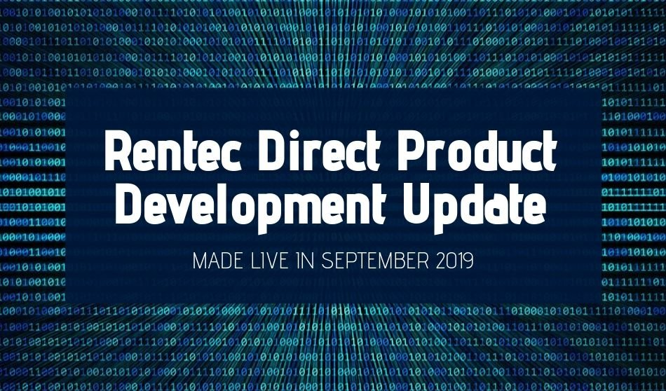 Rentec Direct Product Development Update: Made Live in September 2019
