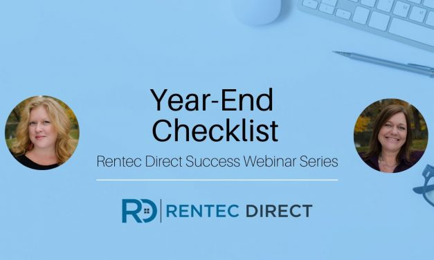 Webinar Recap: Year-End Checklist