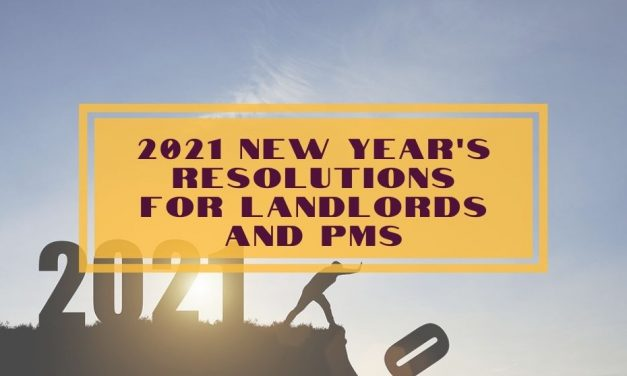 2021 New Year's Resolutions for Landlords and PMs