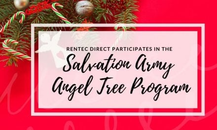 Rentec Direct Participates in The Salvation Army Angel Tree Program