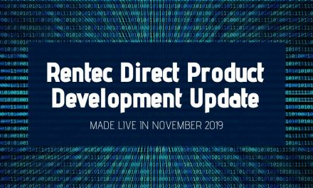 Rentec Direct Product Development Update: Made Live in November 2019