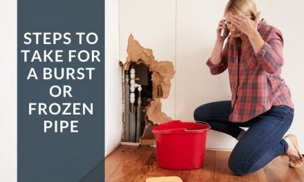 Steps to Take for a Burst or Frozen Pipe