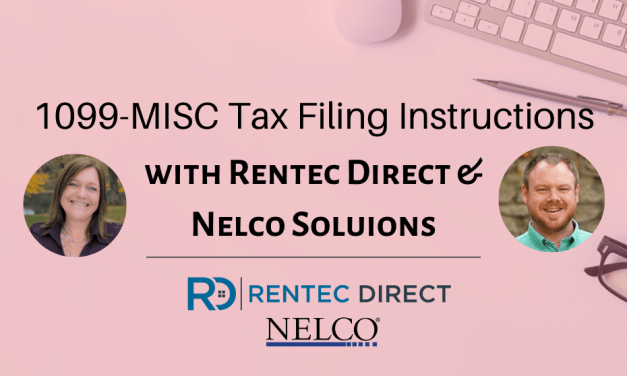 How to File 1099-MISC Tax Forms with Rentec Direct for 2020