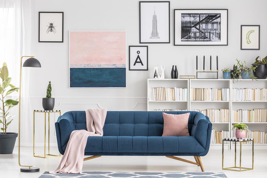 classic blue furniture