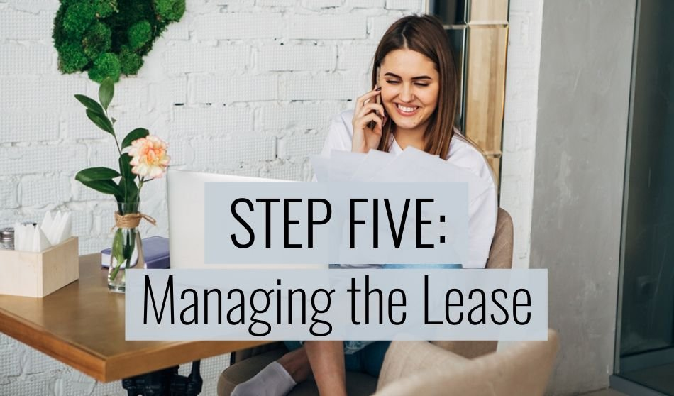 managing the lease