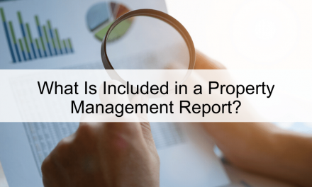 What Is Included in a Property Management Report?