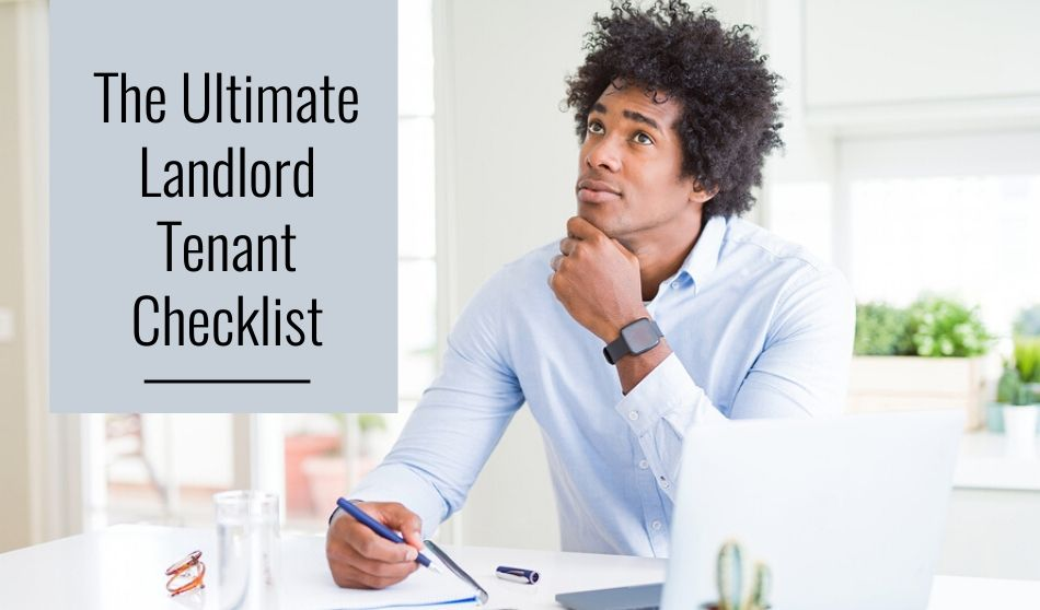 ultimate landlord tenant checklist