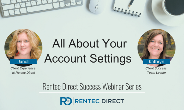 Webinar Recap: All About Your Account Settings