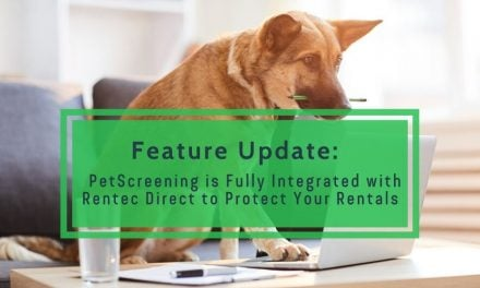 PetScreening is Fully Integrated with Rentec Direct to Protect Your Rentals