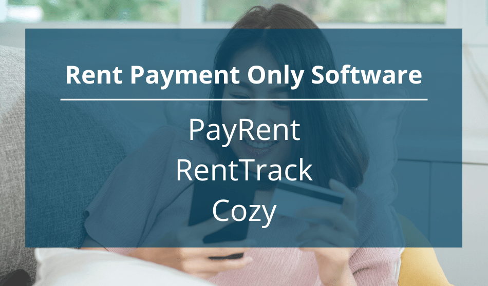 rent payment only software