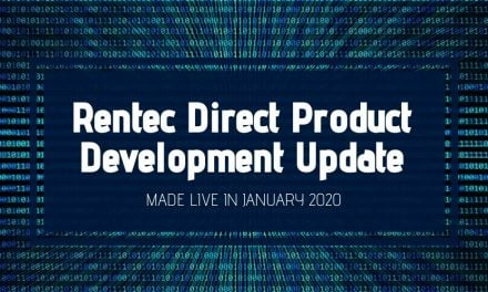 Rentec Direct Product Development Update: Made Live in January 2020