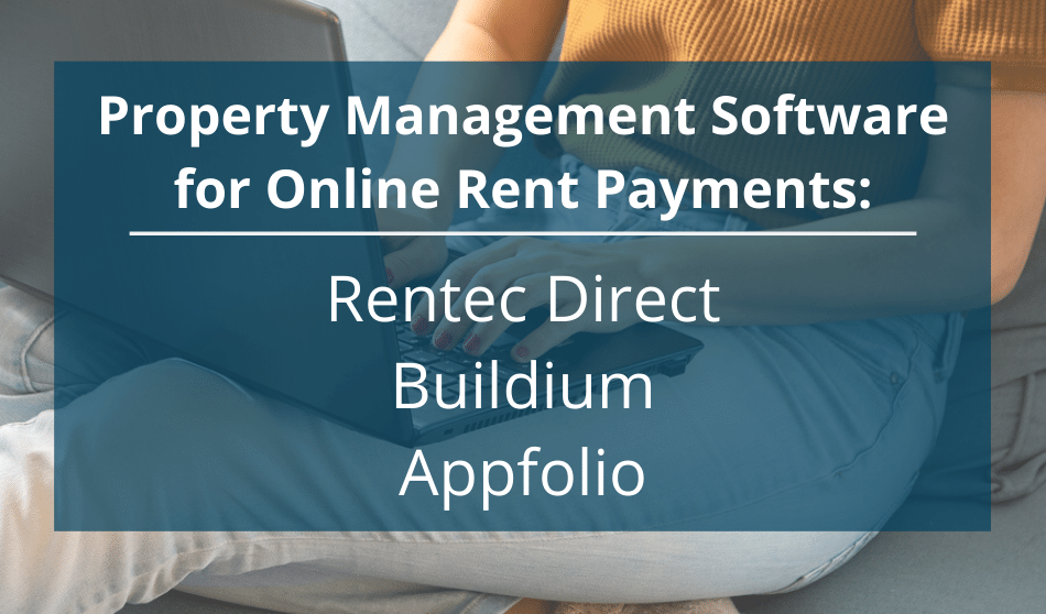 property management software for rent payments