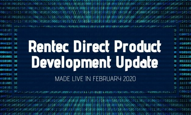 Rentec Direct Product Development Update: Made Live in February 2020
