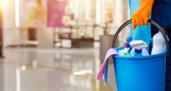Cleaning and disinfecting home and office
