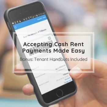 Accepting Cash Payments Made Easy | Bonus Tenant Handouts Included