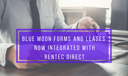 Blue Moon Forms and Leases Now Integrated with Rentec Direct