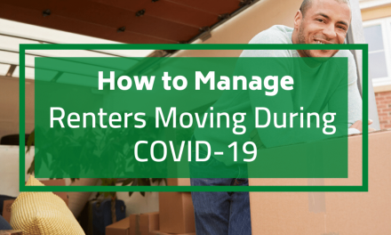 How to Manage Renters Moving During COVID-19