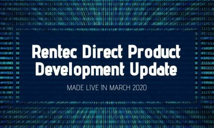 Rentec Direct Product Development Update: Made Live in March 2020