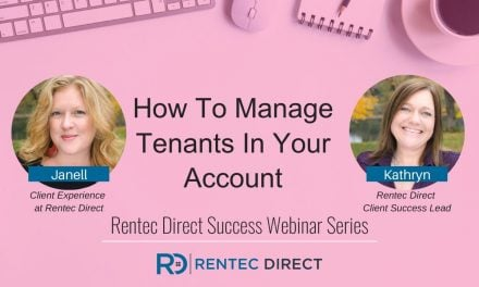 Webinar Recap: How To Manage Tenants In Your Account